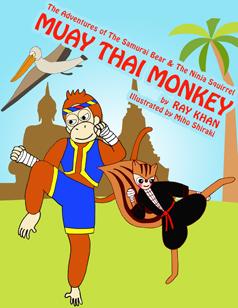 The adventures of the samurai bear and the ninja squirrel - Muay Thai Monkey